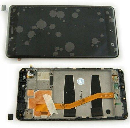 Lenovo K6 Note wyświetlacz LCD+digitizer dotyk ORG