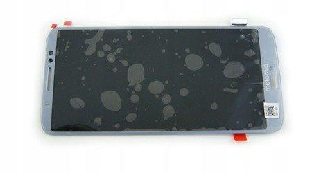 Motorola Moto G6 Plus wyświetlacz LCD+digitizer srebrny