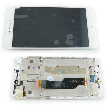 Xiaomi Redmi Note 4x wyświetlacz LCD+digitizer+ramka biały
